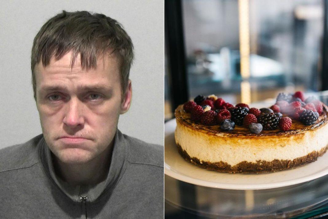 justice-desserts:-burglar-caught-napping-next-to-half-eaten-cheesecake